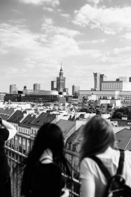 Vantage point. Warsaw, 2018