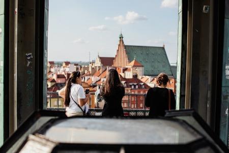 Creatign memories. Warsaw, 2018