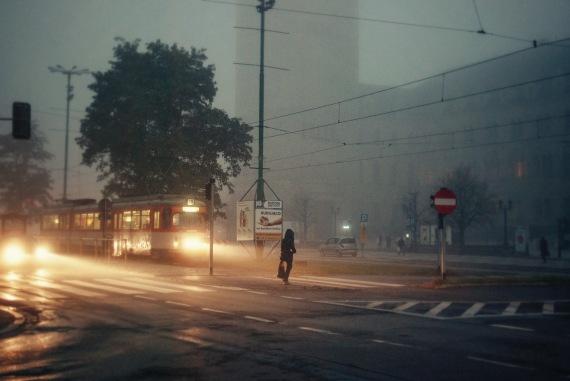 swienty marcin crossing foggy trams pedestrian