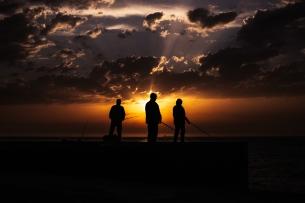 fishermen sunset porto I