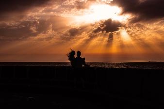 Porto Sunset Couple